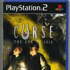 Videojuegos y Consolas: PLAY STATION 2 - CURSE THE EYE OF ISIS - CON MANUAL. Lote 30644841