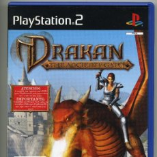 Videojuegos y Consolas: PLAY STATION 2 - DRAKAN THE ANCIENTY GATES- CON MANUAL. Lote 30644886