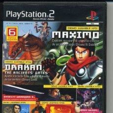 Videojuegos y Consolas: PLAY STATION 2 - MAXIMO - DRAKAN - DVD-ROM - DEMOS JUGABLES . Lote 30652741
