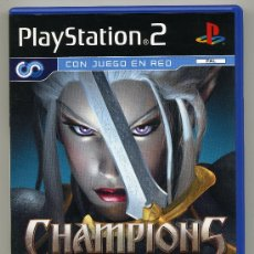 Videojuegos y Consolas: PLAY STATION 2 -CHAMPIONS OF NORRATH- CON MANUAL. Lote 30652931