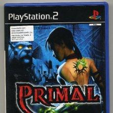 Videojuegos y Consolas: PLAY STATION 2 -PRIMAL- CON MANUAL - . Lote 30653053