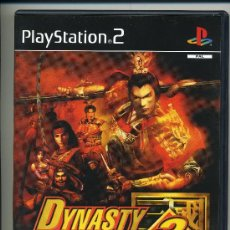 Videojuegos y Consolas: PLAY STATION 2 -DYNASTY WARRIORS 3- CON MANUAL - . Lote 30653135