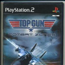 Videojuegos y Consolas: PLAY STATION 2 -TOP GUN COMBAT ZONES- CON MANUAL - . Lote 30653154