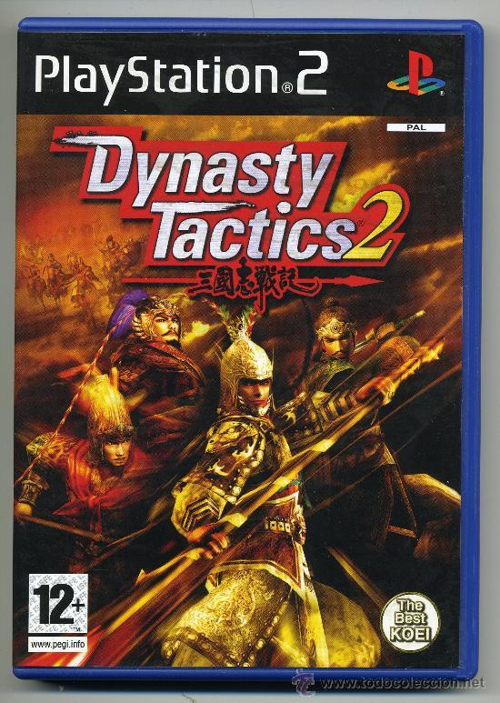 DYNASTY TACTICS 2- VIDEOJUEGO PLAT STATION.2 - CON MANUAL (Juguetes - Videojuegos y Consolas - Sony - PS1)