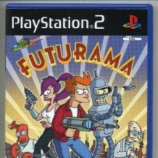 Videojuegos y Consolas: FUTURAMA- VIDEOJUEGO PLAT STATION.2 - CON MANUAL. Lote 30675065