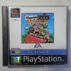 Videojuegos y Consolas: PS1 THEME PARK WORLD. Lote 30821482