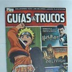 Videojuegos y Consolas: NARUTO. UZUMAKI CHRONICLES. GUÍAS Y TRUCOS. SOLUCIONES PARA LOS MEJORES JUEGOS PLAYSTATION. Lote 30840209