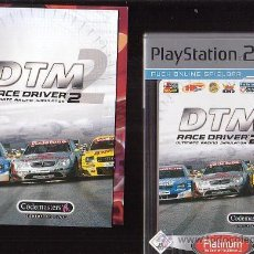 Videojuegos y Consolas: PLAY STATION 2 DTM RACE DRIVER 2. Lote 30925915