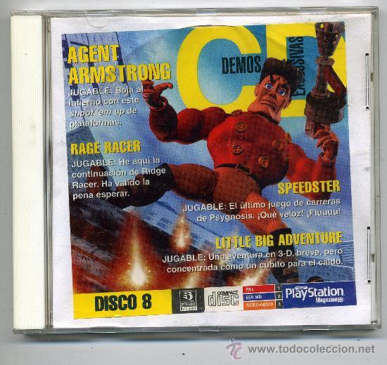AGENT ARMSTRONG - VIDEOJUEGO PLAY STATION (Juguetes - Videojuegos y Consolas - Sony - PS1)