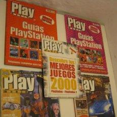 Videojuegos y Consolas: LOTE 5 REVISTAS PLAY MANIA PLAYSTATION 6 - 11 - 14 - 18 Y ESPECIAL E3 PLAY STATION. Lote 31544416