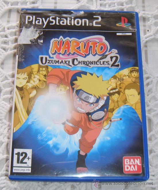 3fe9dd49739 NARUTO UZUMAKI CHRONICLES 2 BANDAI (Juguetes - Videojuegos y Consolas -  Sony - PS1) ...