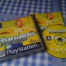 Videojuegos y Consolas: RONALDO V-FOOTBALL JUEGO PARA SONY PLAYSTATION PS1 PLAY STATION PAL COMPLETO. Lote 32195746