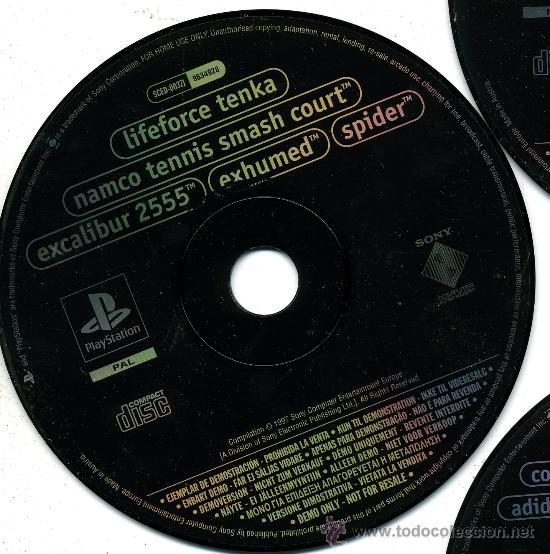 Videojuegos y Consolas: cd 4-5-7 demo excluxiva - demos jugables - Foto 5 - 32684097