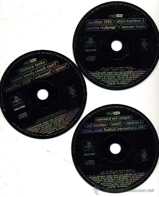 CD 4-5-7 DEMO EXCLUXIVA - DEMOS JUGABLES (Juguetes - Videojuegos y Consolas - Sony - PS1)