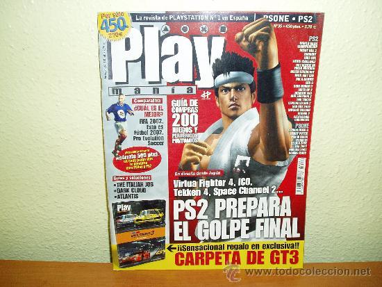 REVISTA PLAYMANIA 35 (Juguetes - Videojuegos y Consolas - Sony - PS1)