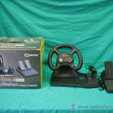 Videojuegos y Consolas: PLAYSTATION DOBLE SHOCK . RACING WHEEL. Lote 33082727