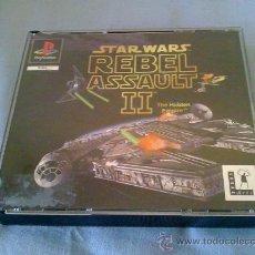 Videojuegos y Consolas: PS1 PSX REBEL ASSAULT 2 PAL SIN MANUAL. Lote 33379693