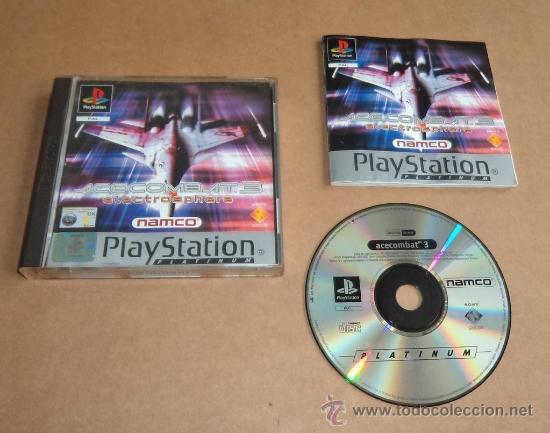 ACE COMBAT 3 : ELECTROSPHERE PARA SONY PLAYSTATION, PAL (Juguetes - Videojuegos y Consolas - Sony - PS1)