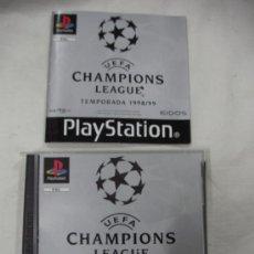 Videojuegos y Consolas: ANTIGUO JUEGO PLAYSTATION UEFA CHAMPIONS LEAGUE. Lote 33766742