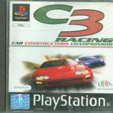 Videojuegos y Consolas: C3 RACING, CAR CONSTRUCTORS CHAMPIONSHIP ( COMPLETO Y MUY DIFICIL). Lote 33763815