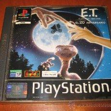 Videojuegos y Consolas: E.T. EL EXTRATERRESTRE PSX PLAYSTATION PAL ESPAÑA COMPLETO UBI SOFT. Lote 34000921