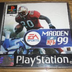 Videojuegos y Consolas: JUEGO - MADDEN NFL 99 PARA PLAYSTATION. Lote 34056542