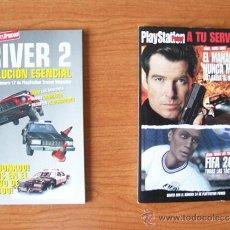 Videojuegos y Consolas: LOTE 2 LIBROS PLAYSTATION TRUCOS, GUIAS, SOLUCIONES - DRIVER 2, JAMES BOND 007. FIFA 2000. Lote 34064765