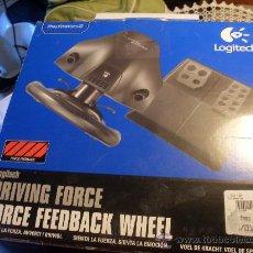 Videojuegos y Consolas: VOLANTE FORCE FEEDBACK WHEEL, DRIVING FORCE. CON PEDALES. PLAY STATION 2. Lote 34590465