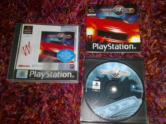 PS1 PSX PLAY STATION ROADSTERS PAL ESP (Juguetes - Videojuegos y Consolas - Sony - PS1)