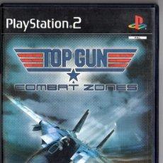 Videojuegos y Consolas: VIDEO JUEGO TOP GUN . COMBAT ZONES CON MANUAL. Lote 35188141