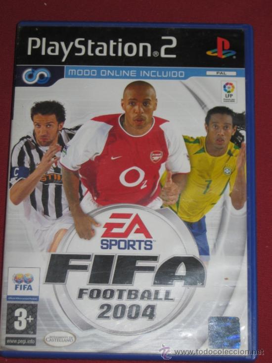 JUEGO PLAY STATION 2 - FIFA 2004 (Juguetes - Videojuegos y Consolas - Sony - PS1)