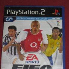 Videojuegos y Consolas: JUEGO PLAY STATION 2 - FIFA 2004. Lote 35478697