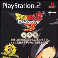 Videojuegos y Consolas: DRAGON BALL Z BUDOKAI 3 COLLECTOR'S EDITION. Lote 35649352