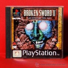 Videojuegos y Consolas: BROKEN SWORD II LAS FUERZAS DEL MAL PLAYSTATION VIDEOJUEGO. Lote 35838720