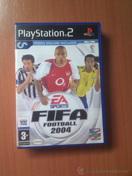 JUEGO PLAY2 FIFA FOOTBALL 2004. EA SPORTS (Juguetes - Videojuegos y Consolas - Sony - PS1)
