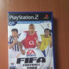 Videojuegos y Consolas: JUEGO PLAY2 FIFA FOOTBALL 2004. EA SPORTS. Lote 35980014
