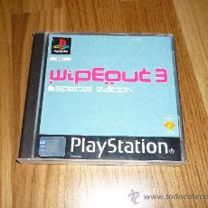 Videojuegos y Consolas: ESPECTACULAR JUEGO PLAYSTATION CONSOLA WIPEOUT 3 EDICION ESPECIAL. Lote 210148632