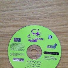 Videojuegos y Consolas: CD AUDIO CON 6 CANCIONES DEL JUEGO MUSIC DE CODEMASTERS PARA PSX. Lote 38485121