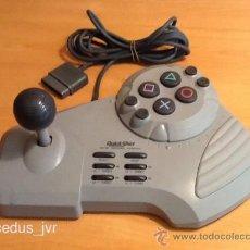 Videojuegos y Consolas: MANDO JOYSTICK ARCADE QUICKSHOT CON PALANCA PARA LA CONSOLA SONY PLAY STATION PLAYSTATION 1 PS1. Lote 38661376