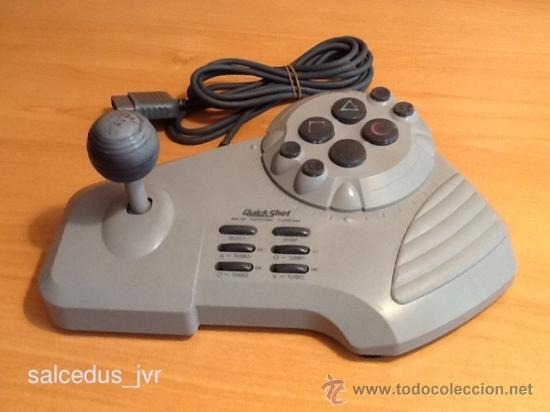 MANDO JOYSTICK ARCADE QUICKSHOT CON PALANCA PARA LA CONSOLA SONY PLAY STATION PLAYSTATION 1 PS1 (Juguetes - Videojuegos y Consolas - Sony - PS1)