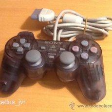 Videojuegos y Consolas: MANDO CONTROLADOR AZUL TRANSPARENTE PARA CONSOLA SONY PLAYSTATION PLAY STATION ONE PSONE PS1. Lote 79194269