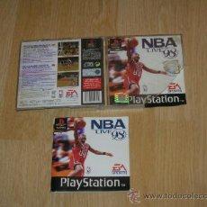 Videojuegos y Consolas: CAJA Y MANUAL NBA LIFE 98 PLAYSTATION PAL ESPAÑA. Lote 39076853