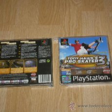 Videojuegos y Consolas: CAJA Y MANUAL TONY HAWK'S PRO SKATER 3 PLAYSTATION. Lote 39076879
