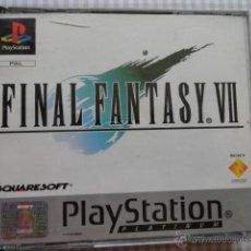 Videojuegos y Consolas: FINAL FANTASY VII PLAY 1 PLAYSTATION 4CDS PAL INGLES. Lote 39921091