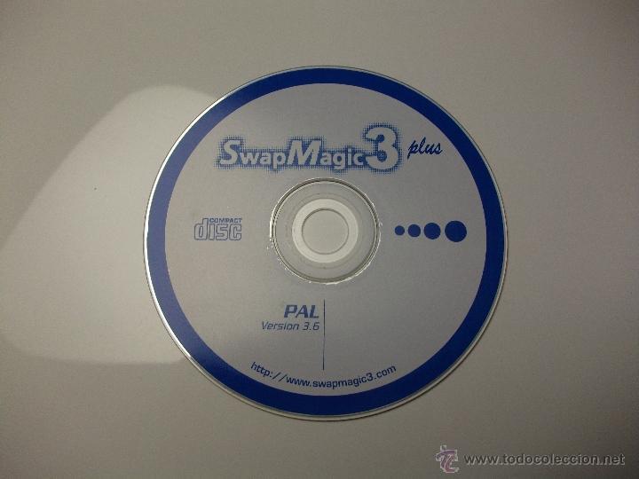 Disco swap magic para cargar cds grabados ps2 - Sold through