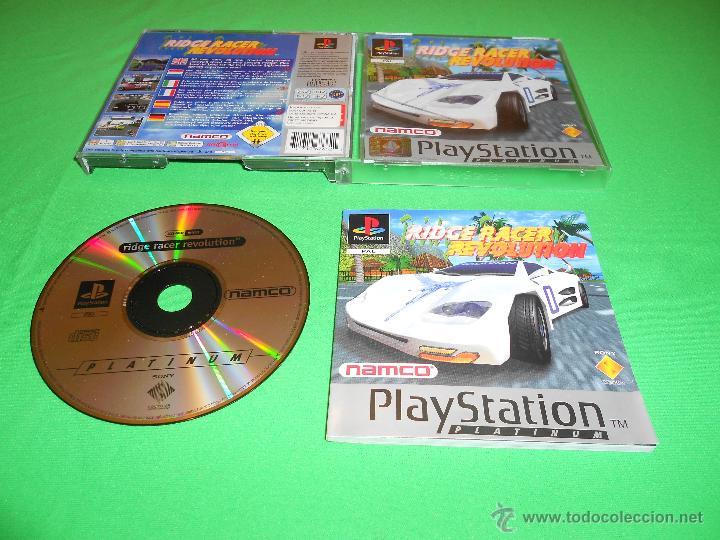 RIDGE RACER REVOLUTION - PS1 - NAMCO - SONY - PAL - CON INTRUCCIONES (Juguetes - Videojuegos y Consolas - Sony - PS1)