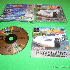 Videojuegos y Consolas: RIDGE RACER REVOLUTION - PS1 - NAMCO - SONY - PAL - CON INTRUCCIONES. Lote 40585081