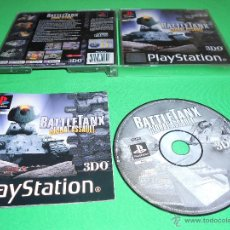 Videojuegos y Consolas: BATTLE TANX ( GLOBAL ASSAULT ) - PLAYSTATION - PSX - PS1 - BATTLETANX - PAL -CON INSTRUCCIONES - 3DO. Lote 40713100