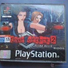 Videojuegos y Consolas: JUEGO PSX PLAY 1 FEAR EFFECT 2. Lote 40772724