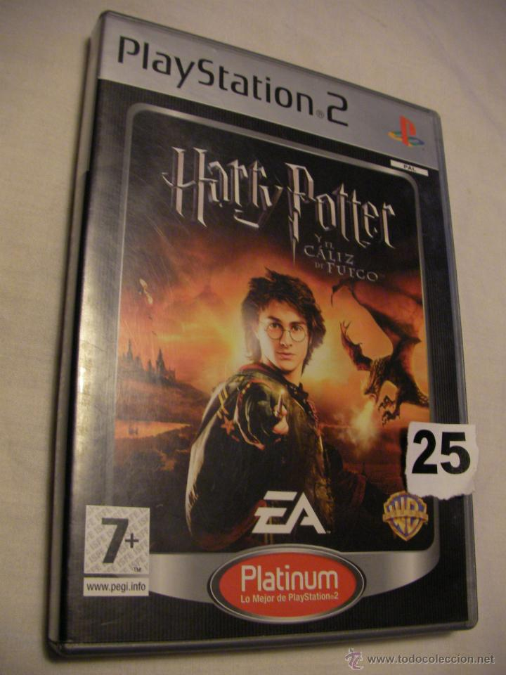 Juego Playstation Harry Potter Y Caliz De Fuego Comprar